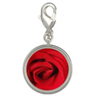 Pingente Rosa vermelha