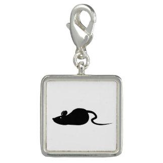 Pingente Silhueta do rato