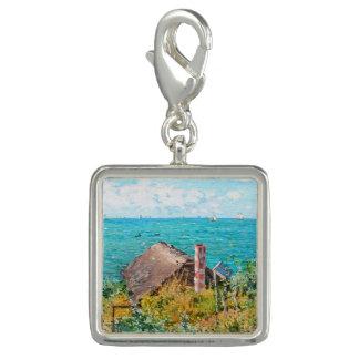 Pingentes Claude Monet a cabine em belas artes do