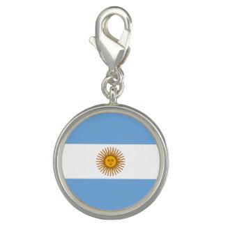 Pingentes Com Foto Bandeira argentina patriótica