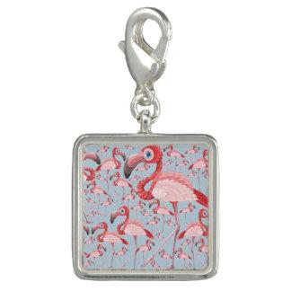 Pingentes Com Foto Flamingo