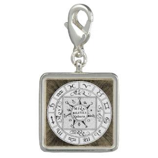 Pingentes Com Foto Mandala dos símbolos do zodíaco e do planeta
