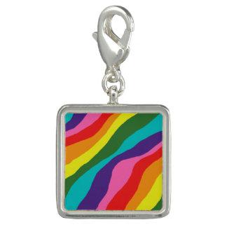 Pingentes Com Foto Padrões do arco-íris