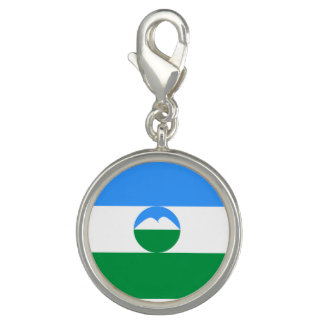 Pingentes Com Fotos Bandeira de Kabardino-Balcária