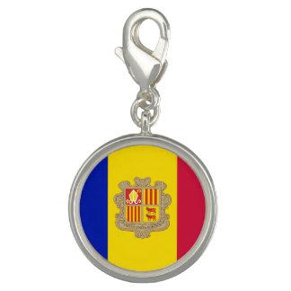 Pingentes Com Fotos Bandeira patriótica de Andorra