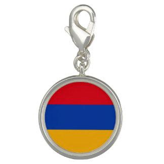 Pingentes Com Fotos Bandeira patriótica de Arménia