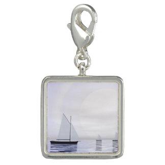 Pingentes Com Fotos Barcos de navigação - 3D rendem