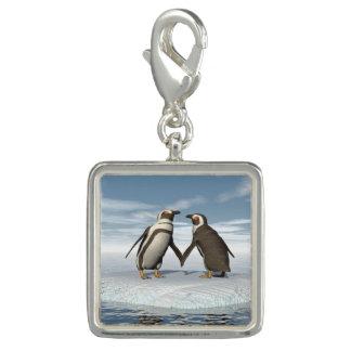 Pingentes Com Fotos Casal dos pinguins