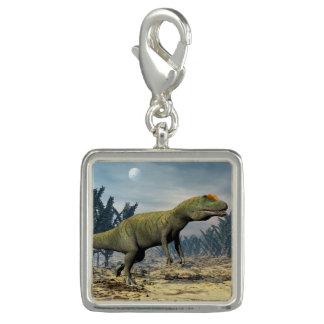 Pingentes Com Fotos Dinossauro do Allosaurus - 3D rendem