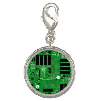 Pingentes Com Fotos O conselho de circuito verde
