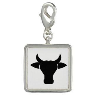 Pingentes Com Fotos Silhueta principal da vaca