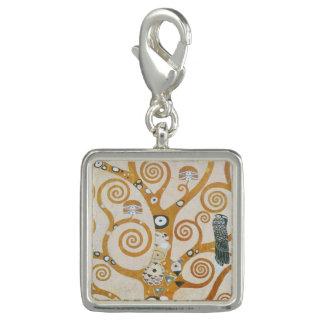 Pingentes Gustavo Klimt a árvore da arte Nouveau da vida