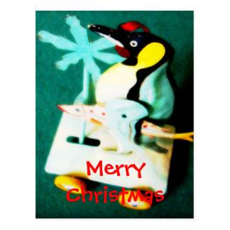 Pinguim • Cartão do Natal