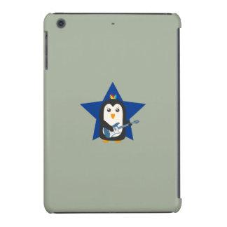 Pinguim da guitarra da rocha capa para iPad mini retina