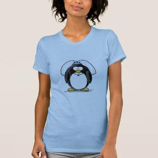 Pinguim da noiva camiseta