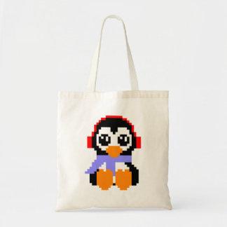 Pinguim de 8 bocados sacola tote budget