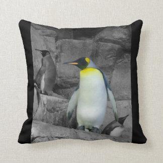 Pinguim de imperador travesseiros de decoração
