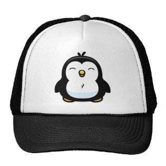 Pinguim do bebê dos desenhos animados boné