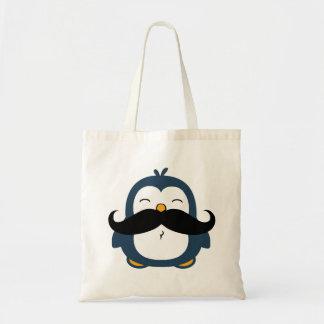 Pinguim do bigode bolsa para compra