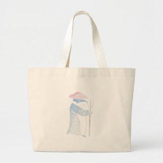 Pinguim do fazendeiro bolsa tote grande