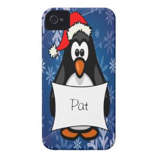 Pinguim do Natal Capinhas iPhone 4