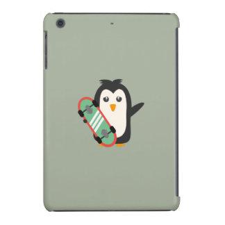 Pinguim do skate capa para iPad mini retina