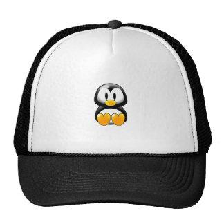 Pinguim dos desenhos animados boné