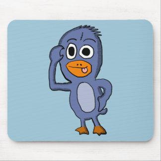 Pinguim roxo Mousepad