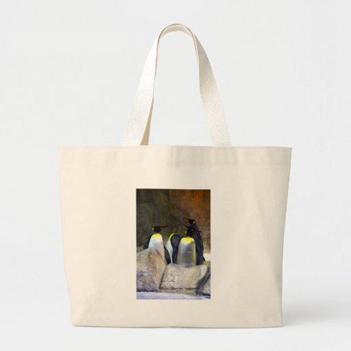 Pinguins 1 bolsas para compras