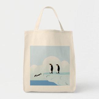 Pinguins Bolsas Para Compras
