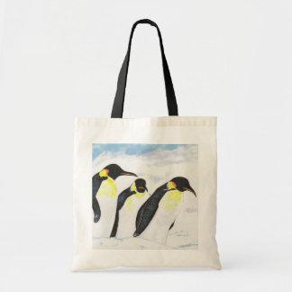 Pinguins Bolsas De Lona
