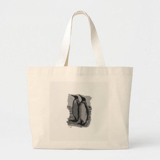 Pinguins Bolsa Para Compras