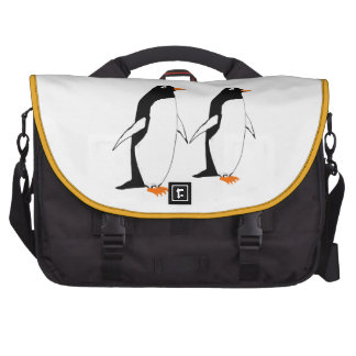 Pinguins bonitos mochila para laptop