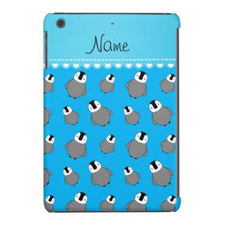 Pinguins conhecidos personalizados do bebê de capa para iPad mini retina