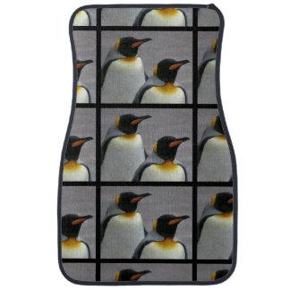 Pinguins de marcha tapete automotivo
