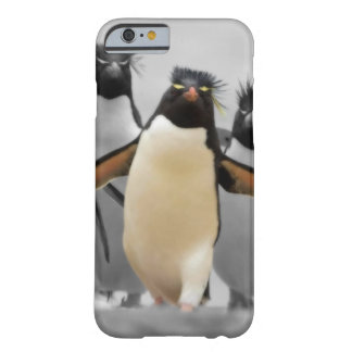 Pinguins de Rockhopper Capa Barely There Para iPhone 6