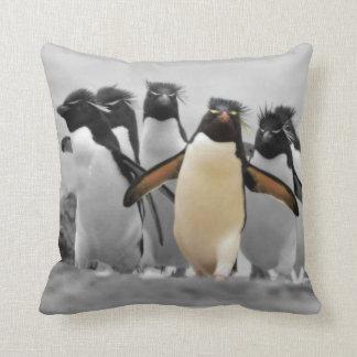 Pinguins de Rockhopper Travesseiros De Decoração