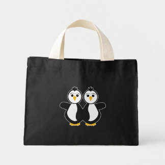 Pinguins gêmeos bonitos bolsa para compra