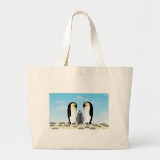 Pinguins impressionantes bolsas para compras