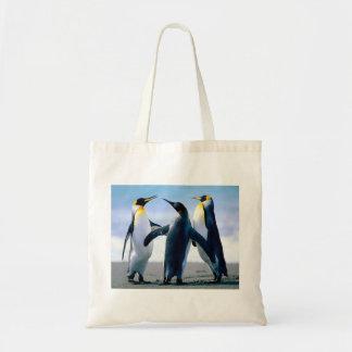 Pinguins Sacola Tote Budget