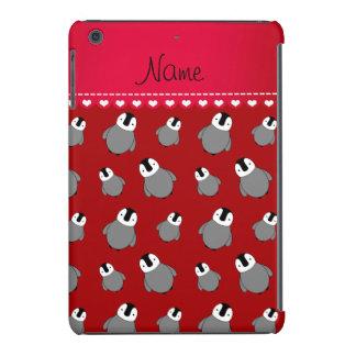 Pinguins vermelhos conhecidos personalizados do capa para iPad mini retina