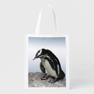 Pinguins Sacola Reusável