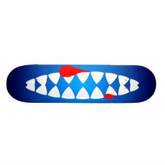 Pinheiro de tubarão shark jaws shape de skate 20,6cm