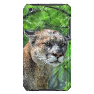 Pinhos do leão do verão de montanha do puma capa iPod Case-Mate