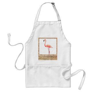 Pink Musical Flamingo Apron