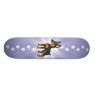 Pinscher diminuto dos desenhos animados/Manchester Shape De Skate 19,7cm