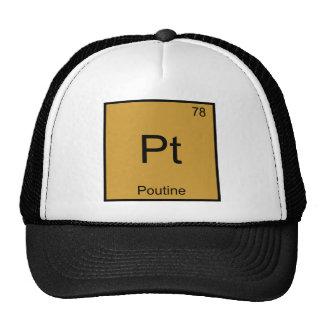 Pinta - T engraçado do símbolo do elemento da quím Boné