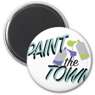 Pinte a cidade imã