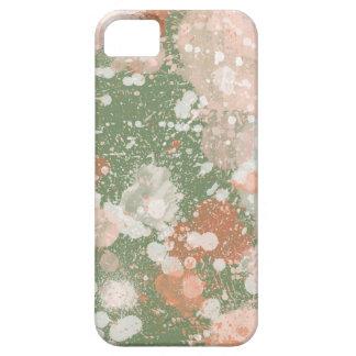 Pinte capas de iphone do efeito do Splatter