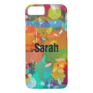 Pinte capas de iphone do Splatter personalizam